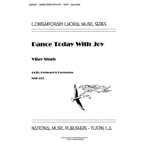Hal Leonard Dance Today With Joy SATB composed by Vijay Singh