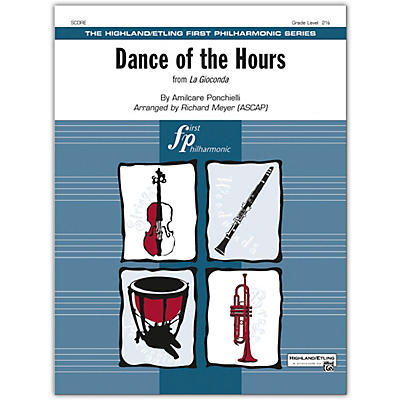 Alfred Dance of the Hours Conductor Score 2.5
