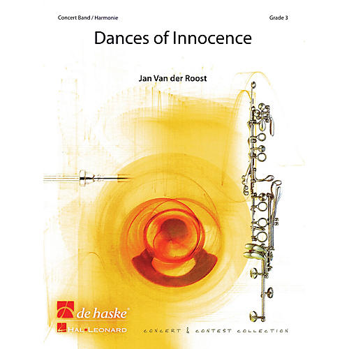 De Haske Music Dances of Innocence (Score and Parts) Concert Band Level 3 Composed by Jan Van der Roost