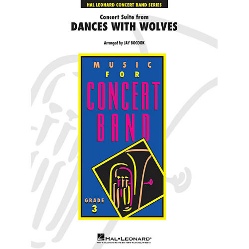 Hal Leonard Dances with Wolves, Concert Suite From - Young Concert Band Level 3 by Jay Bocook