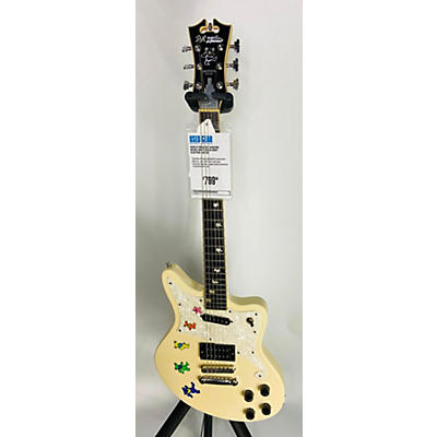 D'Angelico Dancing Bears Solid Body Electric Guitar
