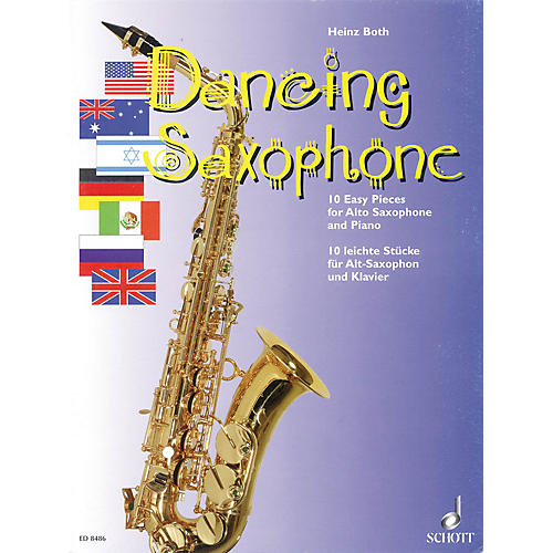 Schott Dancing Saxophone (10 Easy Pieces) Schott Series
