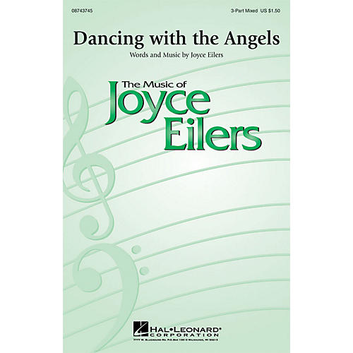 Hal Leonard Dancing with the Angels 3-Part Mixed composed by Joyce Eilers
