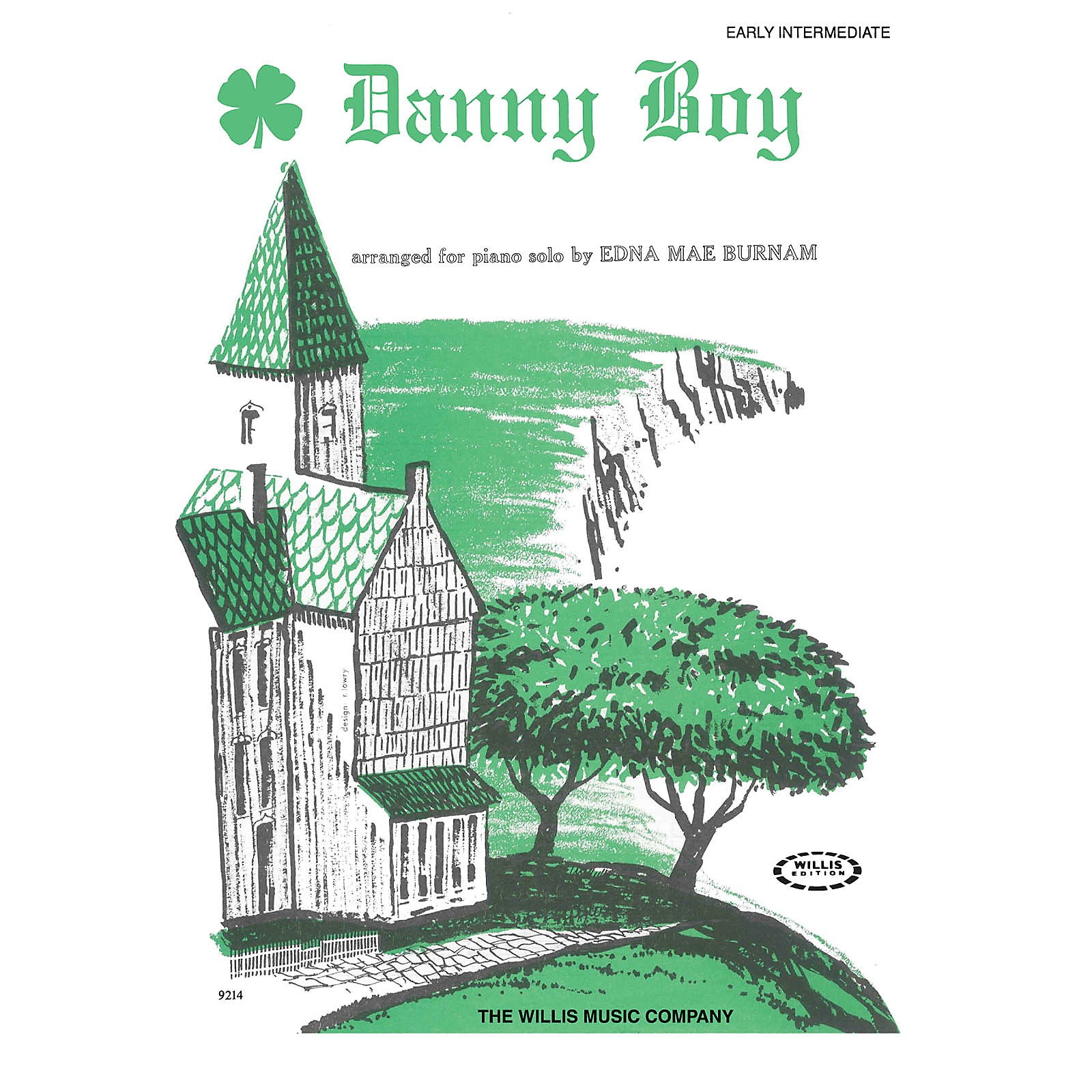 Willis Music Danny Boy (Adapted from an Old Irish Air/Later Elem Level) Willis Series
