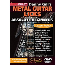 Licklibrary Danny Gill's Metal Guitar Licks (Absolute Beginners Series) Lick Library Series DVD Written by Danny Gill
