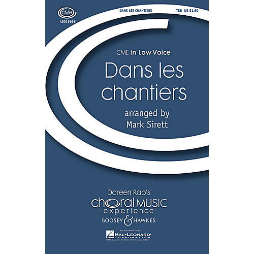 Boosey and Hawkes Dans Les Chantiers TBB arranged by Mark Sirett