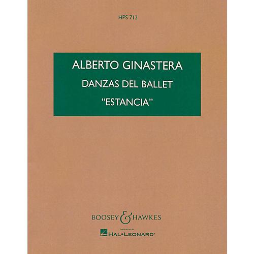 Boosey and Hawkes Danzas del Ballet Estancia (Study Score) Boosey & Hawkes Scores/Books Series by Alberto E. Ginastera