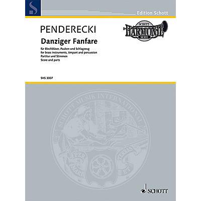 Schott Danziger Fanfare Brass Ensemble Series by Krzysztof Penderecki