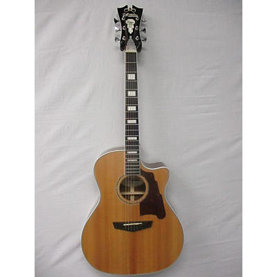 D'Angelico Dapg200naccps Acoustic Electric Guitar