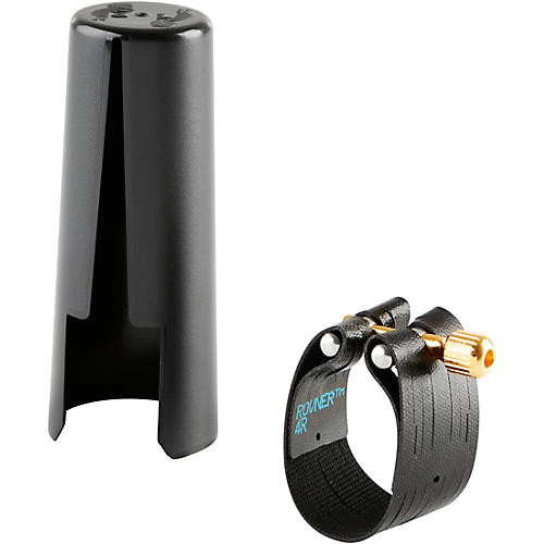 Rovner Dark Bass Saxophone Ligature and Cap