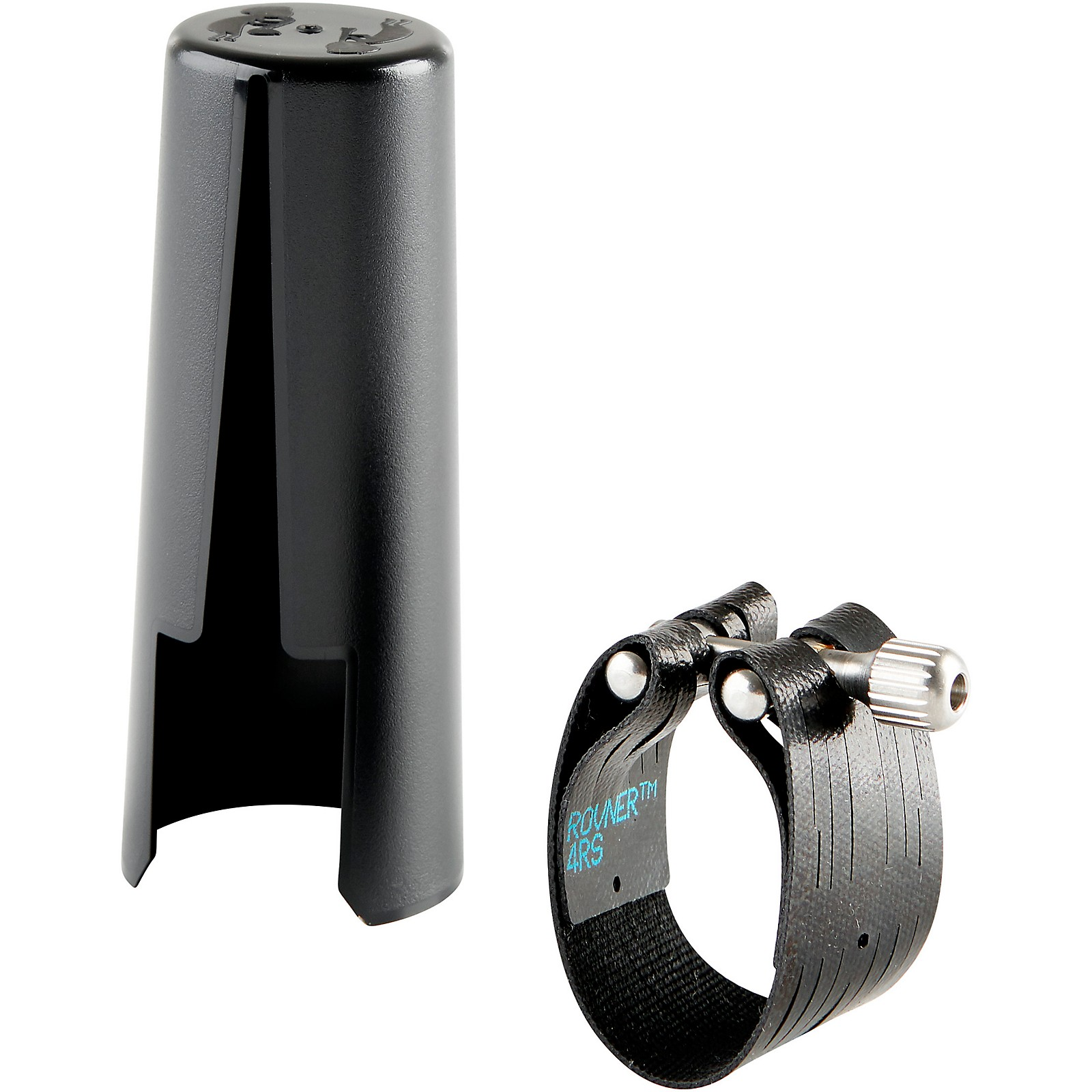 Rovner Dark Contra-Alto Clarinet Ligature and Cap