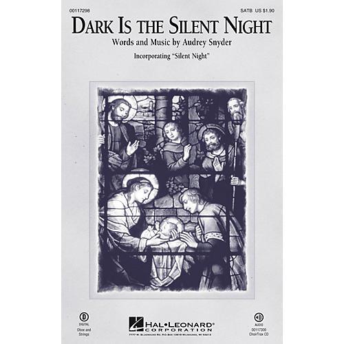 Hal Leonard Dark Is the Silent Night SATB arranged by Audrey Snyder