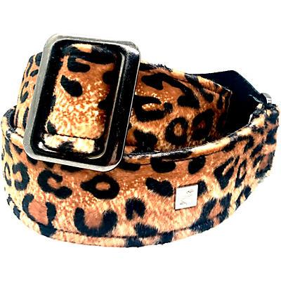 Get'm Get'm Dark Leopard Signature Guitar Strap