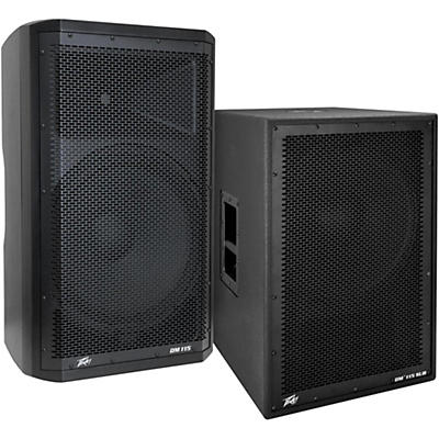 Peavey Dark Matter DM115 Powered Speaker and Sub