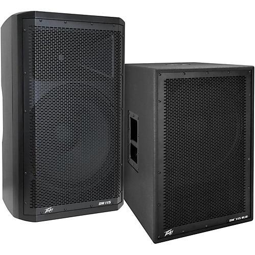 Peavey Dark Matter DM115 Powered Speaker and Sub