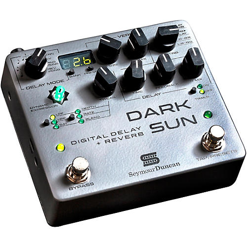 Seymour Duncan Dark Sun Mark Holcomb Signature Digital Delay and Reverb Effects Pedal