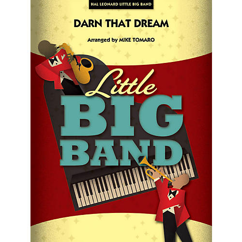 Hal Leonard Darn That Dream - Little Big Band Series Level 3 - 4