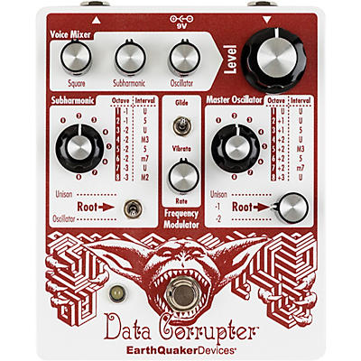 Earthquaker Devices Data Corrupter Special Edition Modulated Monophonic Harmonizing PLL Effects Pedal