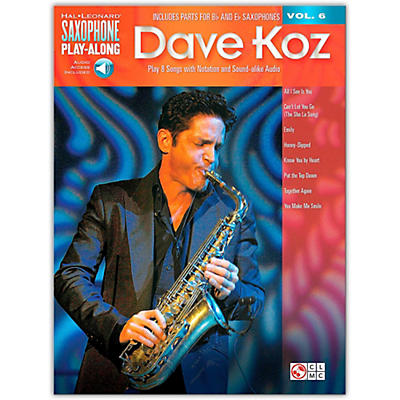 Hal Leonard Dave Koz - Saxophone Play-Along Vol. 6 Book/Online Audio