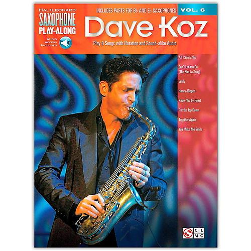 Hal Leonard Dave Koz - Saxophone Play-Along Vol. 6 Book/Online Audio