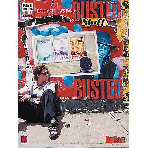 Cherry Lane Dave Matthews Band - Busted Stuff Book