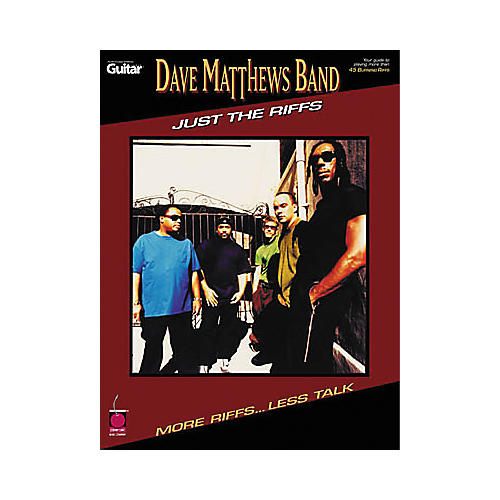 Cherry Lane Dave Matthews Band - Just the Riffs Book