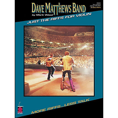 Cherry Lane Dave Matthews Band Just The Riffs Violin Edition
