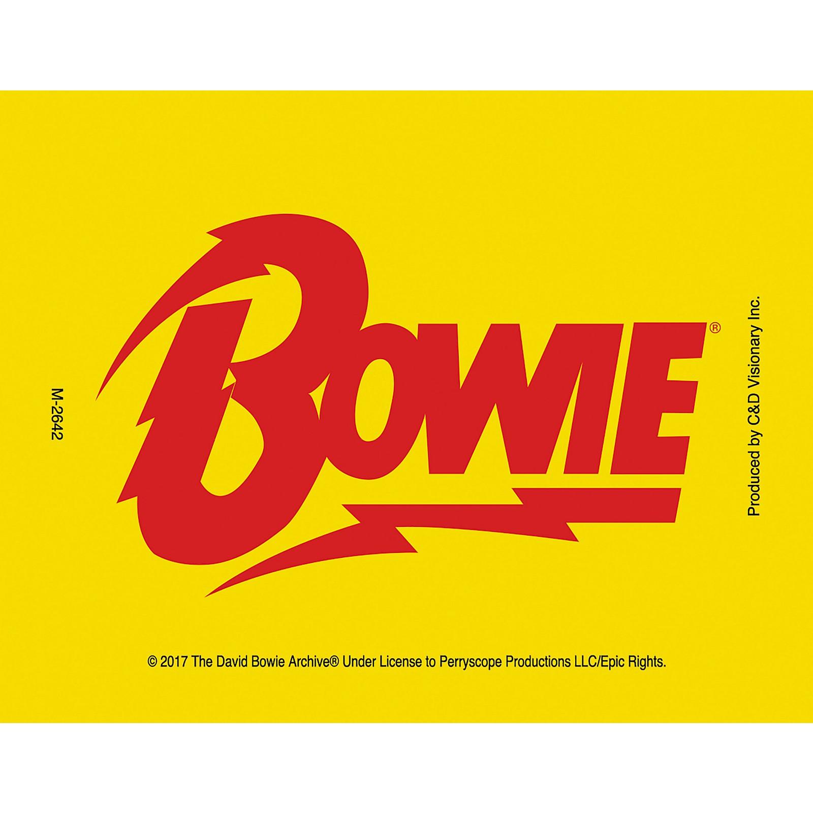 C&D Visionary David Bowie Bolt Magnet