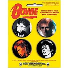 C&D Visionary David Bowie Button Set