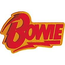 C&D Visionary David Bowie Logo Patch