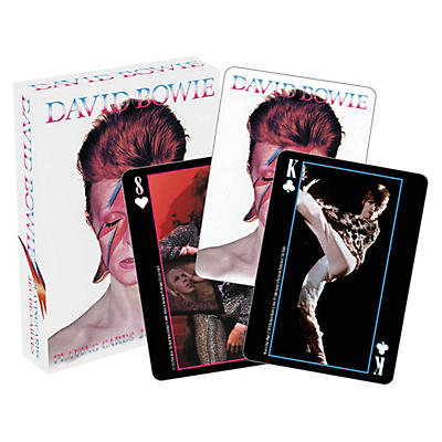 Hal Leonard David Bowie Playing Card Pack