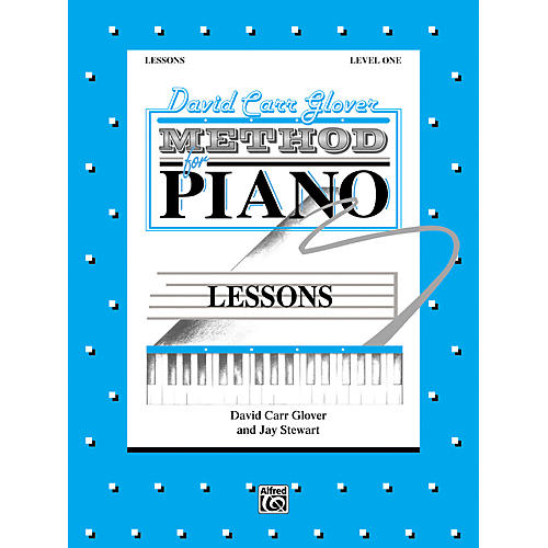 Alfred David Carr Glover Method for Piano Lessons Level 1