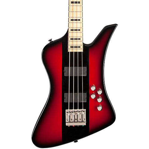 Jackson David Ellefson Signature Kelly Bird 4-String Electric Bass Maple Fingerboard