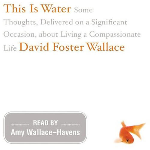 Alliance David Foster Wallace - This Is Water: The Original Recording