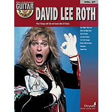 Hal Leonard David Lee Roth Guitar Play-Along Series Volume 27 Book with CD