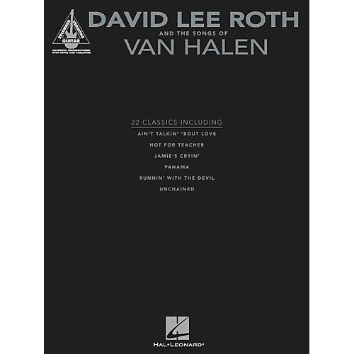 Hal Leonard David Lee Roth and The Songs Of Van Halen - Guitar Tab Songbook