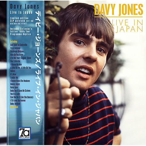 Alliance Davy Jones - Live In Japan (Red, White & Blue Vinyl)
