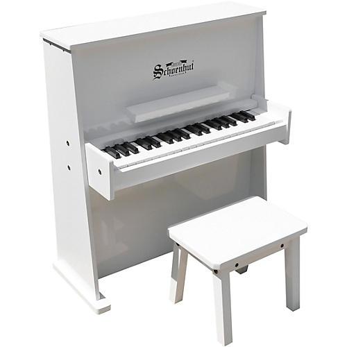 Schoenhut Day Care Durable Piano White