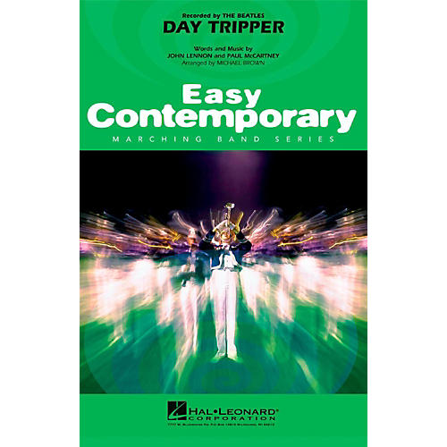 Hal Leonard Day Tripper - Easy Pep Band/Marching Band Level 2
