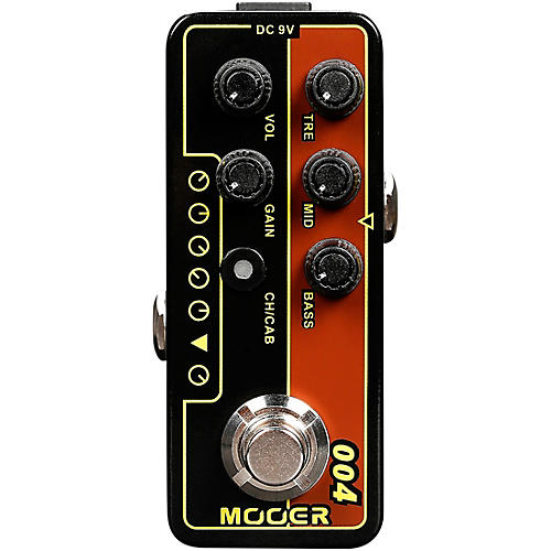Mooer Day Tripper Micro Preamp Pedal Condition 1 - Mint Black and Gold