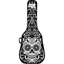 BOLDFACE Day of the Dead Electric Guitar Case w/ Graphic Face Panel