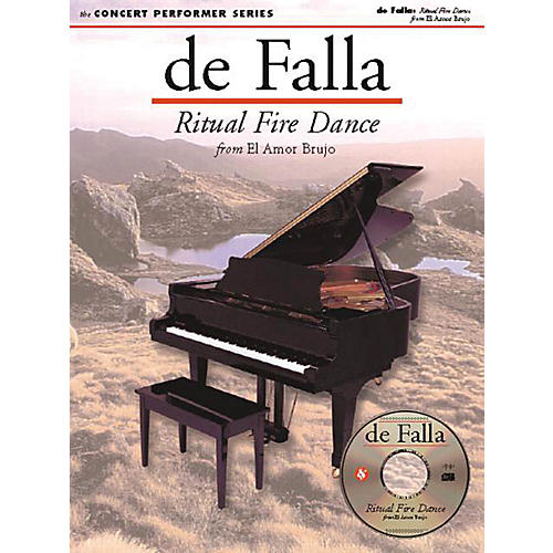 Music Sales De Falla: Ritual Fire Dance (Concert Performer Series) Music Sales America Series Softcover with disk