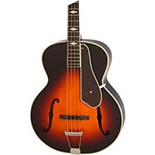 De Luxe Classic Acoustic-Electric Bass Vintage Sunburst