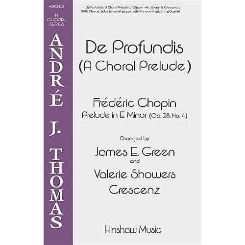 Hinshaw Music De Profundis (A Choral Prelude) SATB arranged by James E. Green