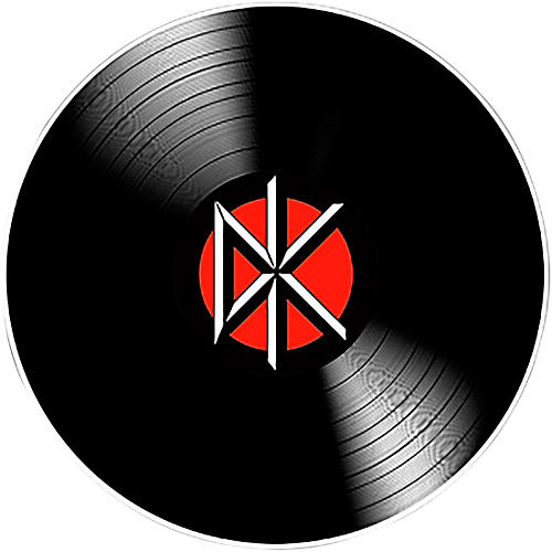C&D Visionary Dead Kennedys DK Record Sticker