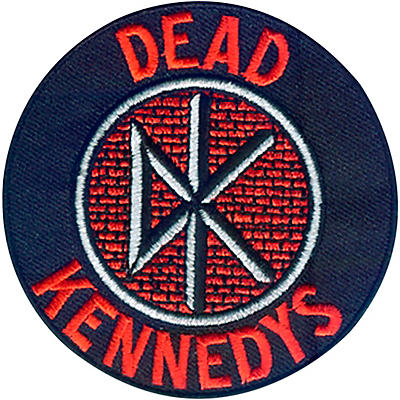 C&D Visionary Dead Kennedys Logo Patch