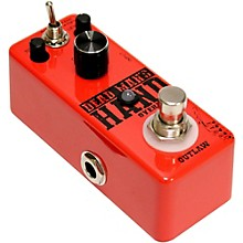 Open BoxOutlaw Effects Dead Man's Hand Guitar Overdrive Pedal