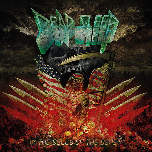 Alliance Dead Sleep - In The Belly Of The Beast (red Vinyl)