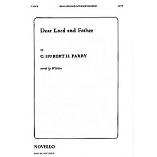 Novello Dear Lord and Father of Mankind SATB Composed by C. Hubert Parry