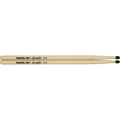 Regal Tip Death EX X-Series Drumsticks With E-Tip